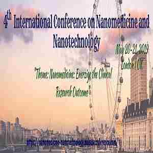 4th International Conference on Nanomedicine and Nanotechnology in London on 20 May