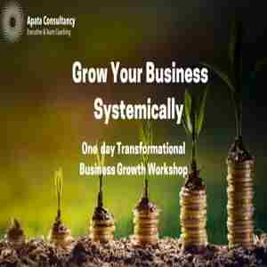 Grow Your Business Systemically- Business Growth Workshop in Coventry on 27 September 2018