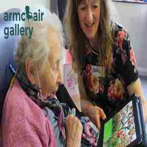 Armchair Gallery: Art, Technology and Older People in Greater Manchester on 23 October 2018