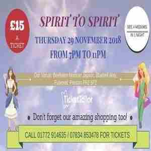 Spirit to Spirit - See 4 mediums in one night! in Fulwood on 29 November 2018