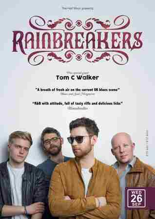 Rainbreakers: Blues Rock Live at The Half Moon Putney London Weds 26 Sept in Greater London on 26 September 2018