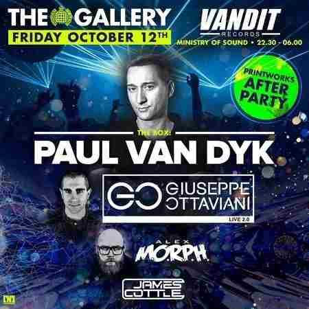 The Gallery: Paul van Dyk (Printworks After Party) in Greater London on 12 October 2018