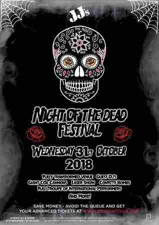 Night of the Dead in Coventry on 31 October 2018