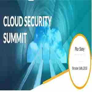 Cloud Security Summit in New York, NY on 16 Oct