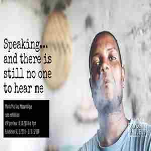 Speaking... and there is still no one to hear me by Mario Macilau in Dubai on 8 Oct