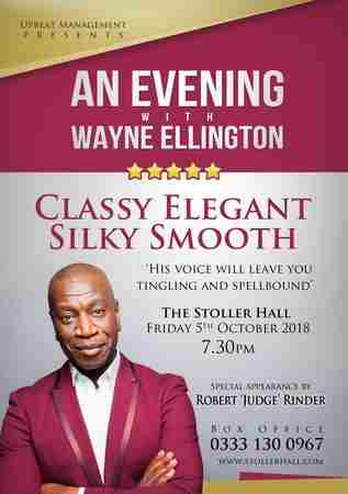 An Evening With Wayne Ellington & Robert 'Judge' Rinder in Greater Manchester on 05 October 2018
