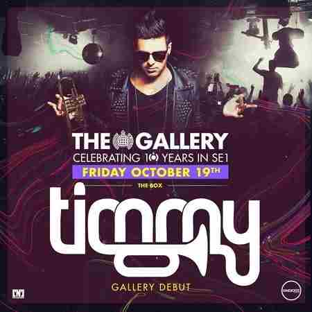 The Gallery: Timmy Trumpet in Greater London on 19 October 2018