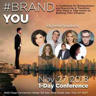 #BRANDYOU A Conference for Entrepreneurs and Executives in Transition in New York on 27 Nov