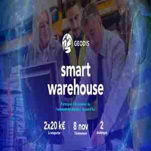 Smart Warehouse in Saint-Denis on 8 Nov