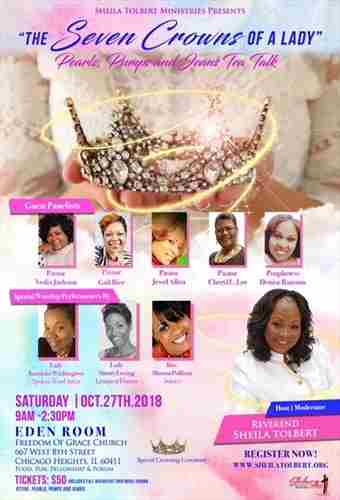 Pearls, Pumps, and Jeans Tea Talk in Chicago Heights on 27 Oct