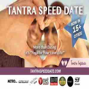 Tantra Speed Date - New York! Meet Mindful Singles! in New York on 9 Nov