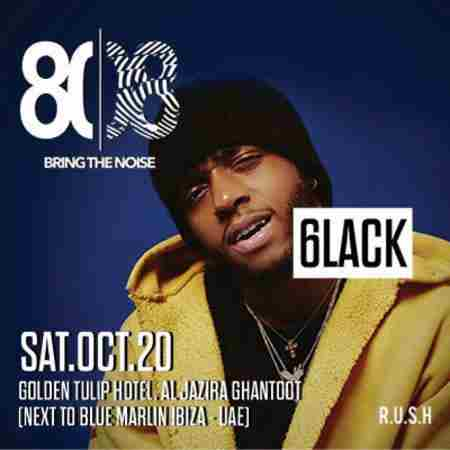 6lack Live | UAE in Al Jarf on 20 Oct