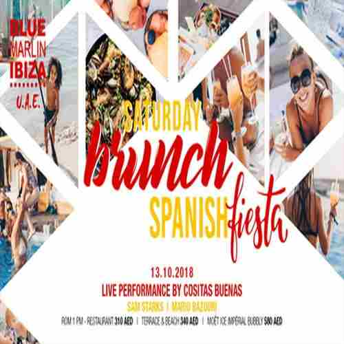 Saturday Brunch: Spanish Fiesta in Abu Dhabi on 13 Oct