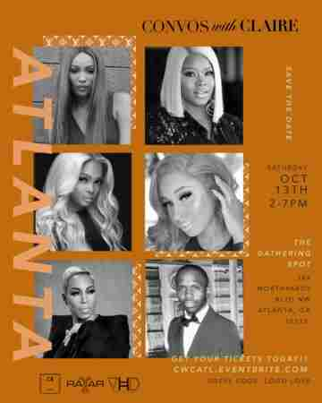 Come Have Convos with Claire Sulmers, Cynthia Bailey, Kim Blackwell + More! in Atlanta on 13 Oct