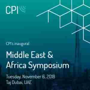 CPI Middle East and Africa Symposium | November 5-6, 2018 in Dubai on 5 Nov