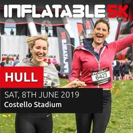 Inflatable 5k Obstacle Course Run on 8 Jun 2019 in Kingston upon Hull on 08 June 2019