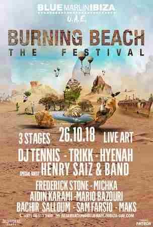 Burning Beach: The Festival at Blue Marlin Ibiza UAE in Al Jarf on 26 Oct