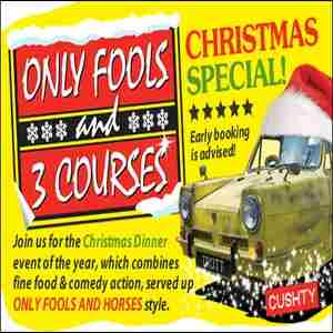 Only Fools and 3 Courses XMAS Special Dinner Event York in York on 22 November 2018