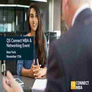 New York Connect MBA Event: Free Headshots and Meet Top MBA Programs 1-on-1 in New York on 17 Nov