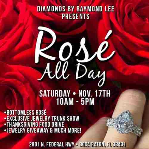Rosé All Day in Boca Raton on 17 Nov