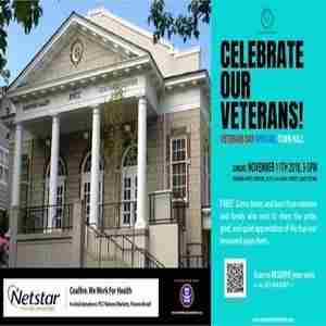 2nd Annual Veterans Day Open Mic Town Hall, Nov 11. Rainier Arts Center in Seattle on 11 Nov