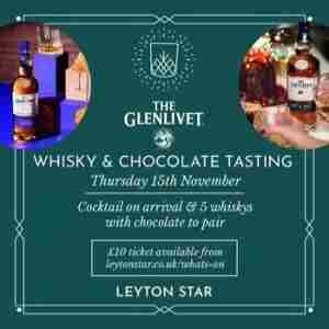 The Glenlivet Whisky and Chocolate Tasting - Leyton in Greater London on 15 Nov
