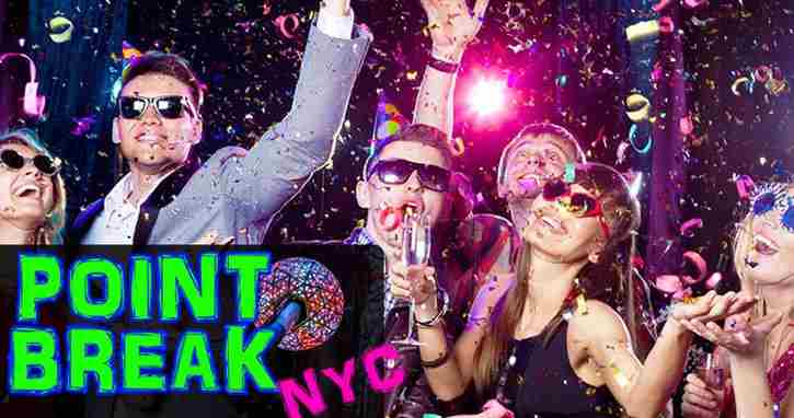 Point Break NYC New Years 2019 Open Bar Party in New York on 31 Dec