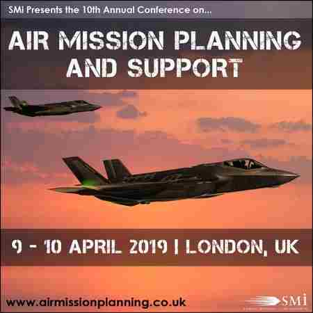 Air Mission Planning and Support 2019 in Greater London on 9 Apr