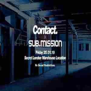 Contact x Sub.mission - Ivy Lab, Icicle, Youngsta, J:Kenzo in London on 25 January 2019