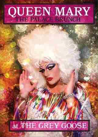 Palace Drag Brunch with Queen Mary in Hampton on 2 Dec