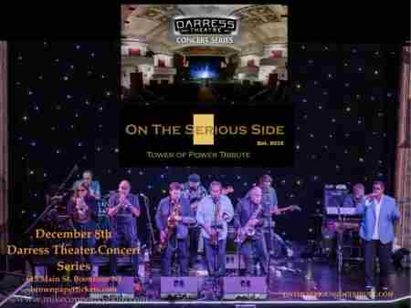The Music of Tower of Power in Boonton on 8 Dec