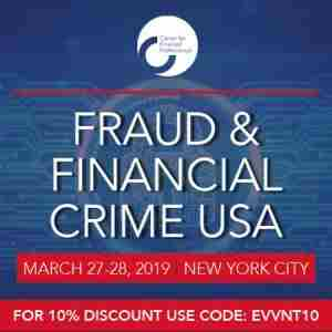 Fraud and Financial Crime USA 2019 | March 27-28, 2019 in New York on 27 Mar