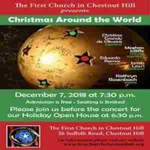 The First Church in Chestnut Hill Holiday Open House and Concert in Newton on 07 December 2018
