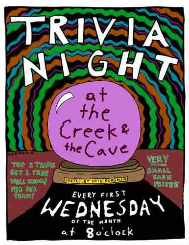 Trivia Night at The Creek and The Cave in Long Island City on 5 Dec