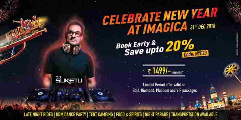 New Year Eve 2019 | New Year Celebration in Mumbai, Pune & Lonavala in Sangadewadi on 31 Dec