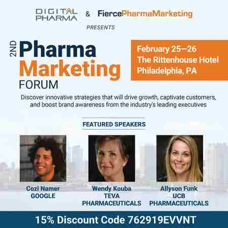 2nd Pharma Marketing Forum in Philadelphia on 25 Feb