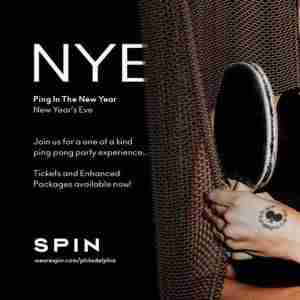 New Year's Eve at SPiN in Philadelphia on 31 Dec