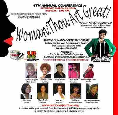 4th Annual Woman: Thou Art Great - Women Sharpening Women Conference in Clinton on 23 Mar