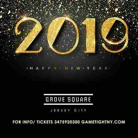 Grove Square NJ 5 Hours Openbar New Years Eve 2019 in Jersey City on 31 Dec