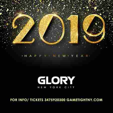 Glory NYC 5 Hours OpenBar New Years Eve 2019 in New York on Monday, December 31, 2018