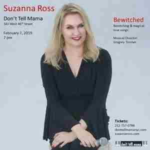 Suzanna Ross Sings Bewitching Love Songs at Don't Tell Mama in New York on 7 Feb