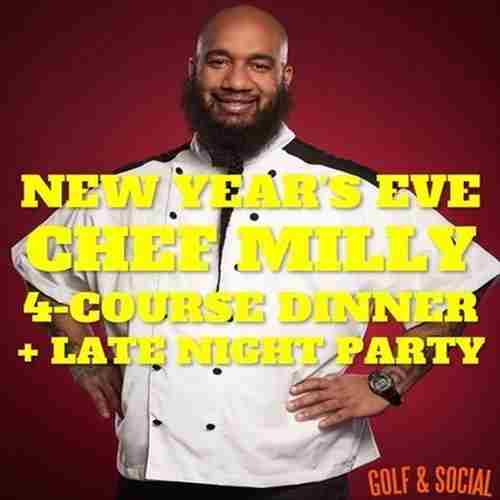 NYE Chef Milly Dinner and Fireworks at Philly Golf and Social in Philadelphia on 31 Dec