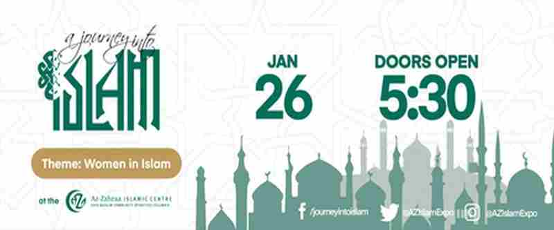 A Journey Into Islam in Richmond on 26 Jan