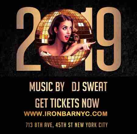 Celebrate New Year's Eve 2019 @ Iron Bar NYC in New York on 31 Dec