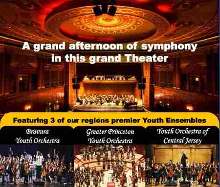 Youth Orchestra Festival at Patriots Theater in Trenton on 26 January 2019