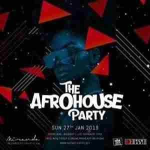 The Afro House Party in London on 27 Jan