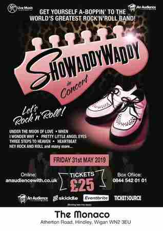SHOWADDYWADDY in Hindley on 31 May