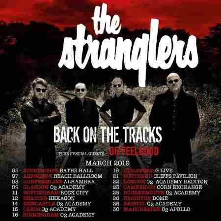 The Stranglers in Southend-on-Sea on 21 Mar