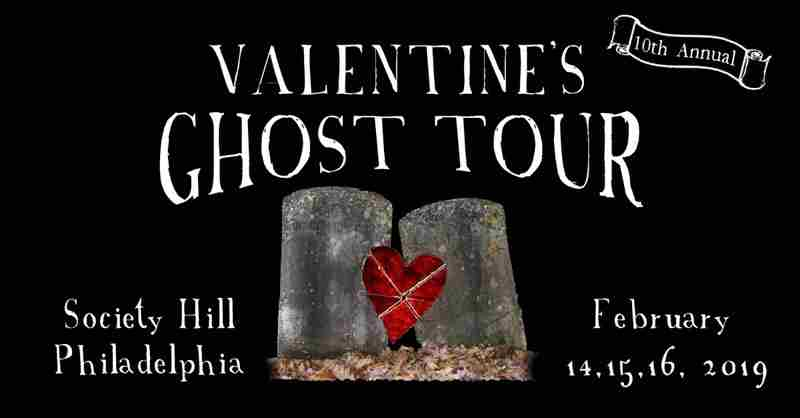 Valentine's Ghost Tour in PHILADELPHIA on 14 February 2019