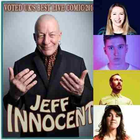 Comedy at The Bluecoats Pub Tottenham N17 : Jeff Innocent & special guests in Greater London on 5 Feb